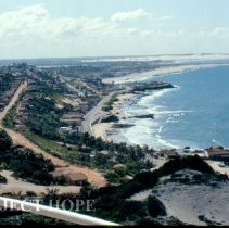 Image of View from Lighthouse in Natal looking toward mouth of Potengi River.