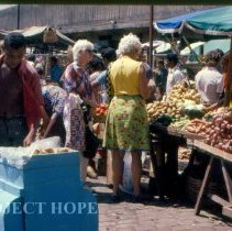 Image of Vera Finley, Pathologist and Betty Heath, Pathologist at the Maceio Market