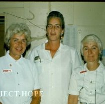 Image of Betty Heath, Pathologist, Ivonne Simon, Pathologist, Vera Finlay, Patholog