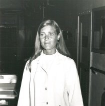 Image of Marie Storaasli, Medical Technologist, in Hematology department