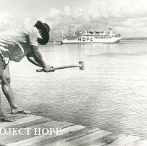 Image of Construction of a new pier for the SS HOPE in Maceio