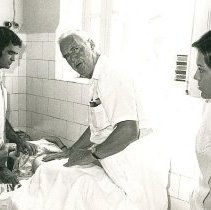 Image of Dr James Hennessy, General Practice, at Santa Casa Hospital with counterpar