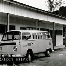 Image of HOPE van in Maceio