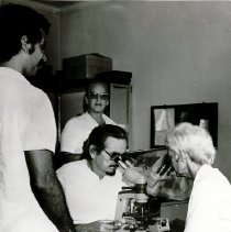 Image of Dr Ivonne Simon, Brazilian Pathologist, and unknown