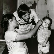 Image of unknown with patient and parent