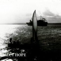 Image of Brazil Maceio - SS HOPE arrives in Maceio, Brazil to begin 1973 mission.