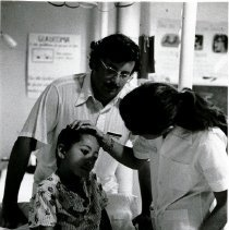 Image of HOPIE Frank Diamond, a fourth year medical student, two month rotation.
