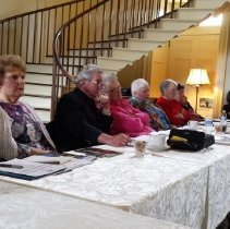 Image of 2015 Alumni Board Meeting at HOPE Center, see image 5 description