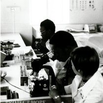 Image of Laboratory technology is an integral part of HOPE's program for the EC.