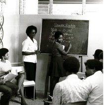 Image of Medical Records class at Queen Elizabeth Hospital, Barbados