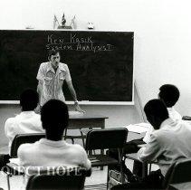 Image of Tom Kirby teaching in Public Health Inspectors Program