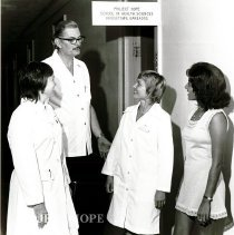 Image of Rena Storm, John Schaaf, Karen Kelley with Jamaican student.