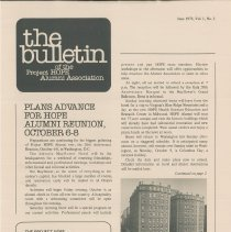 Image of Newsletters - the bulletin of the Project HOPE Alumni Assoc June 1978, Vol. 1, No. 2