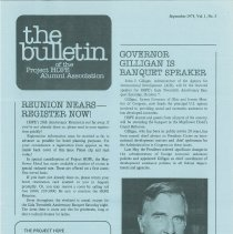 Image of Newsletters - the bulletin of the Project HOPE Alumni Association September 1978, Vol. 1, No. 3