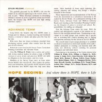 Image of HOPE News  Vol. 6, No. 2/1968 page 2
