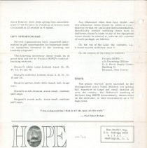 Image of HOPE/NEWS July 1963 Page 4