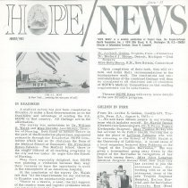 Image of HOPE/NEWS August/1963  page 1
