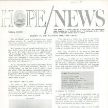 Image of HOPE/NEWS Report to the National Maritime Union  page 1