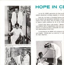 Image of HOPE NEWS Vol. 7, No. 1/1969 page 4