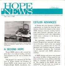 Image of Newsletters - HOPE News Vol. 7, No. 1/1969