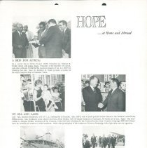 Image of HOPE/NEWS April/May 1964 page  3