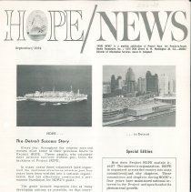 Image of HOPE/NEWS September/1964 page 1