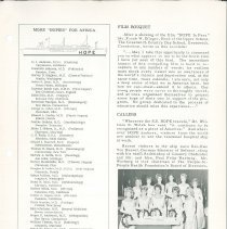 Image of HOPE/NEWS March/April 1965 page 3