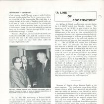 Image of HOPE/NEWS November/December 1965 page 2