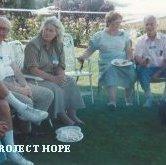 Image of Dr. & Mrs.John Gehrig, Joan Karkeck, Dr. Henry Kuharie