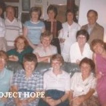 Image of HOPE Steering Committee, July 13, 1984