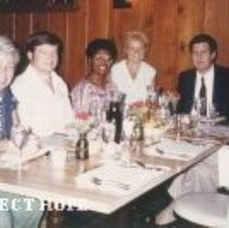 Image of Debriefing, HOPE's Hunt Dining Room, 8-1-84