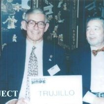Image of Hal Royaltey and Archie Golden at the 1996 reunion in Seattle.