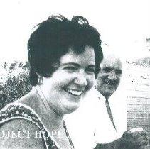 Image of Regina Mellon in Natal Brazil in 1972.