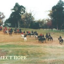 Image of The Hunt at Carter Hall around 1992.