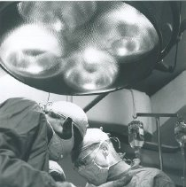 Image of Surgery aboard the SS HOPE on Voyage I.