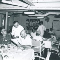 Image of Hopies and counterparts in the dining room.