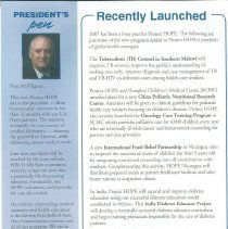 Image of HOPE News Fall 2007 page 2