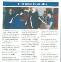 Image of HOPE News Fall 2007 page 4