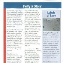 Image of HOPE News Fall 2007 page 6