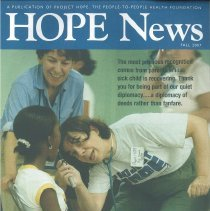Image of HOPE News Fall 2007 page 1