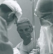 Image of Nurse Anesthetist Pricilla Strong on SS HOPE in Ecuador Voyage III.