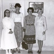 Image of From left:  Sr Mary Joseph, Sharon Reeves, Effatt Kamel, Nancy Chandler