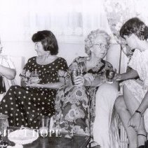 Image of Anna Howard 2nd from right, Sharon Reeves far right