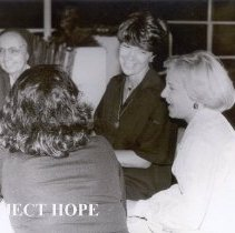 Image of Clockwise:  Sister Mary Joseph, Sharon Reeves, Nancy Chandler, Wedad Willia