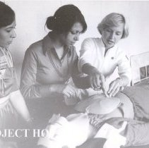 Image of Nancy Chandler ICU CE course, Imbaba Cardiothoracic Institute, 1978