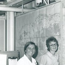 Image of Delores Maloney and Martha Vilander in Jamaica Voyage IX.