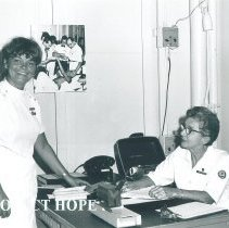 Image of Carol Howery and Esther Tune in Jamaica Voyage IX.