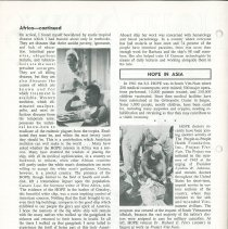 Image of HOPE/NEWS May/June 1966 page 2