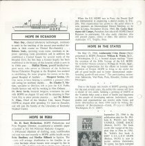 Image of HOPE/NEWS July/August 1966 Page 2