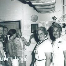 Image of Mrs Campbell and Mrs Margaret Durkee Jamaica Voyage IX.